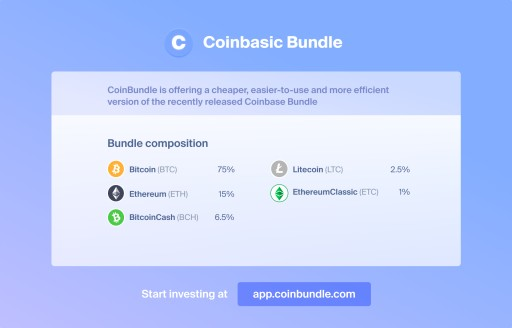 Leading Investing Platform CoinBundle Adds Coinbasic, Halal and Top-20 Bundles of Cryptocurrencies to Bring New Investors to Crypto and Web 3.0