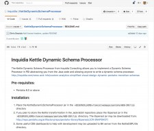 Inquidia's Dynamic Schema Processor Uses Pentaho Data Integration for Fully Dynamic Views