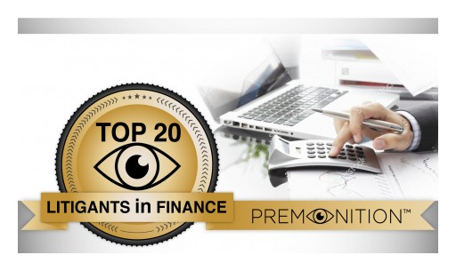 Collections Agencies Dominate Top 20 List of Most-Litigious US Financial Services Companies According to Premonition Analytics