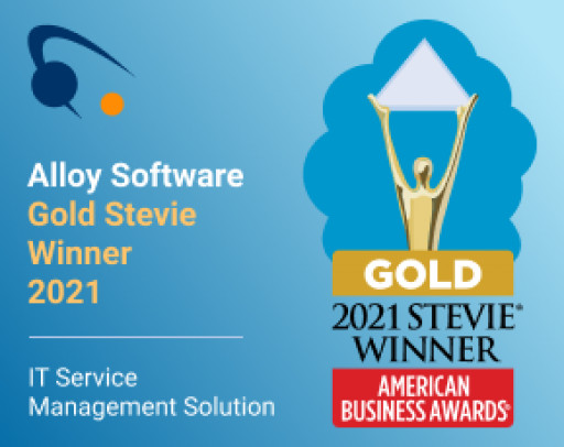 Alloy Software Wins Gold in 2021 American Business Awards