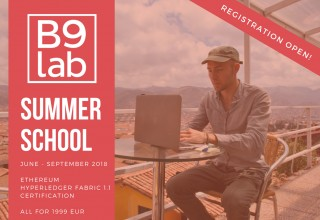 B9lab Online Summer School for Developers