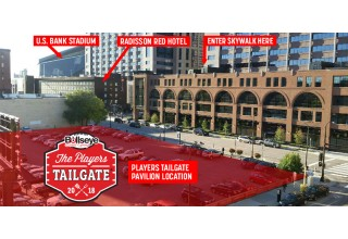 Location of 2018 Players Tailgate