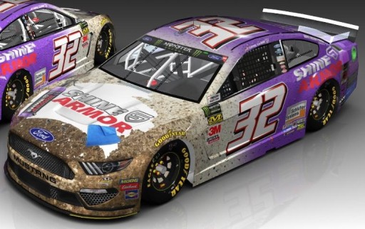 Shine Armor Joins Go Fas Racing and Corey Lajoie in Daytona