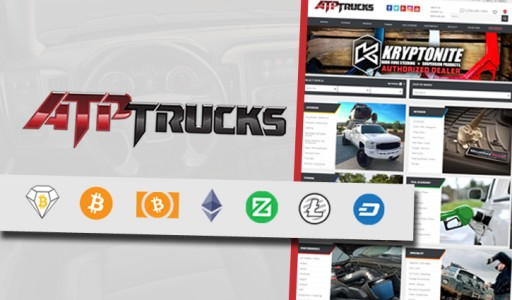 ATPTrucks to Accept Cryptocurrency Payments Including Bitcoin Diamond