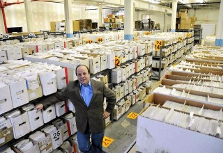 Jim Drucker in NewKadia.com Fulfillment Center