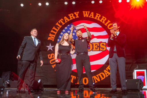 Wounded Purple Heart U.S. Marine Corps Veteran Honored by PHP Agency, Inc. and Gifted With a Fully Paid Home