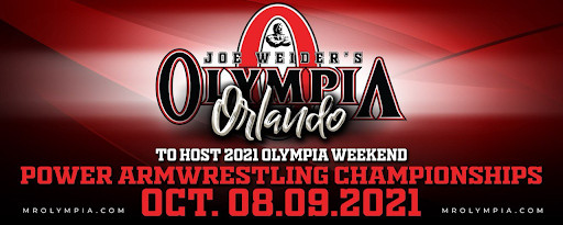 The Mr. Olympia Power Arm Wrestling Championships Have Arrived