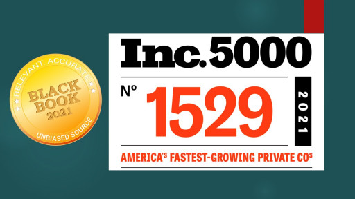 Healthcare Market Research Company Black Book Joins Inc. 5000 List of Fastest Growing Companies in America for 4th Year