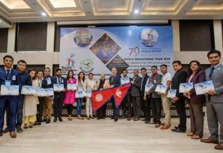 The Nepal delegation