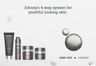 Johnny Weir Favorites Complete 4 step system for youthful looking skin