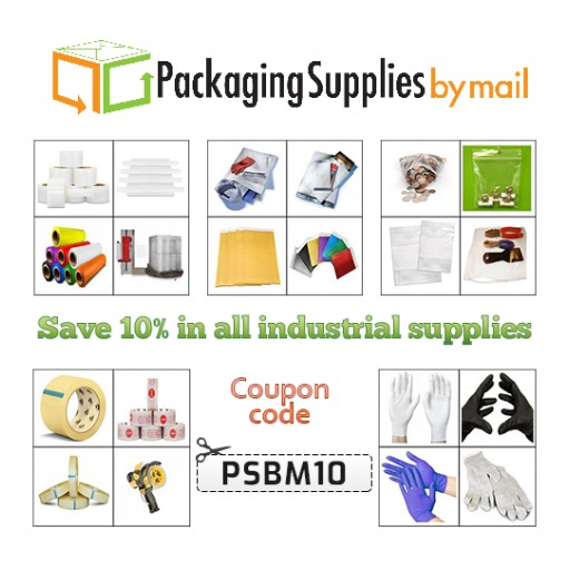 Industrial Supplies to Be Available at 90 Percent of Their Marked Prices on the Most Reliable Online Packaging Supplies Store
