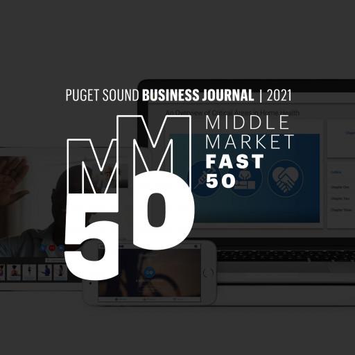 MedBridge Awarded Position in the 2021 Middle Market Fast 50 List by Puget Sound Business Journal