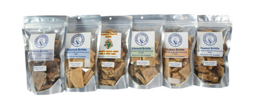 Granny's Confections Celebrates National Peanut Brittle Day on Tuesday, Jan. 26