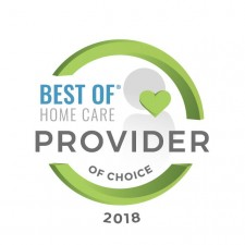 Best of Home Care - Provider of Choice Award