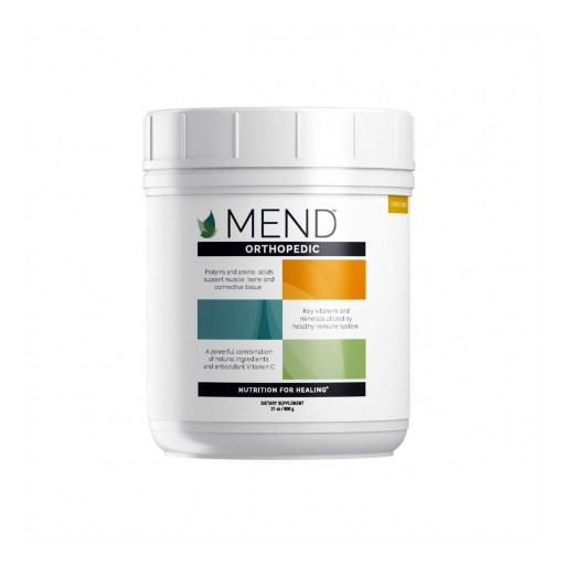 MEND™ Poised to Become the Leading Nutritional Healing & Recovery Brand for Sports, Granted NSF Certification