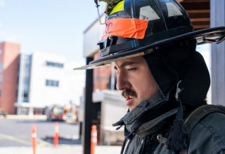 Cooper Mitchell Training With FDNY