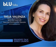 Emmy Winner and Executive Motivational Speaker Tasia Valenza presents the Language of Self Love at BluTalks