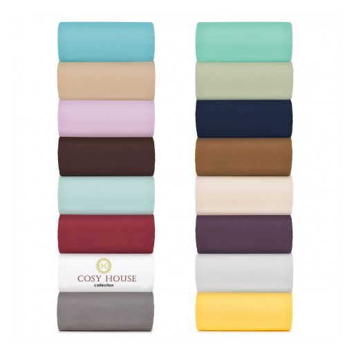High Quality Microfiber Bed Sheet Sets Are Easier to Buy and Affordable Now With Cosy House Collection