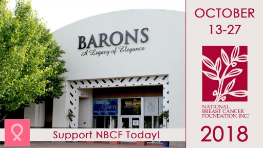 BARONS Jewelers Partners With National Breast Cancer Foundation