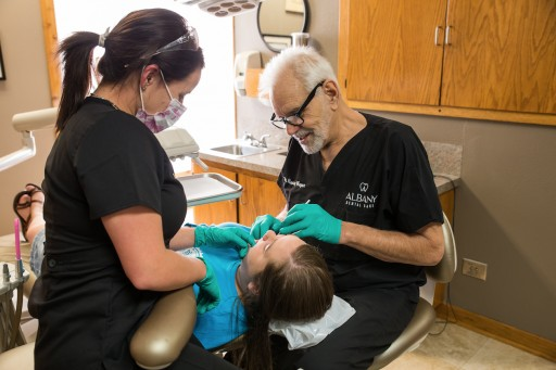 Celebrating Milestones and Holidays Keeps Albany Dental Care's Staff and Patients Smiling