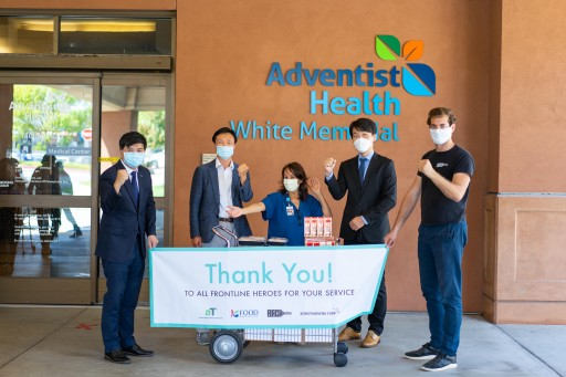 aT Center LA Donated Korean-Inspired Food to Frontline