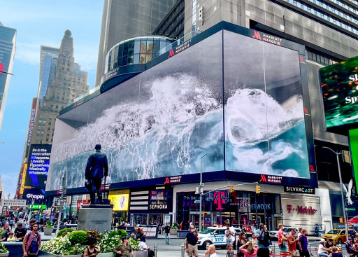 SILVERCAST is Bringing the First 3D Digital Media Art WHALE to Times Square