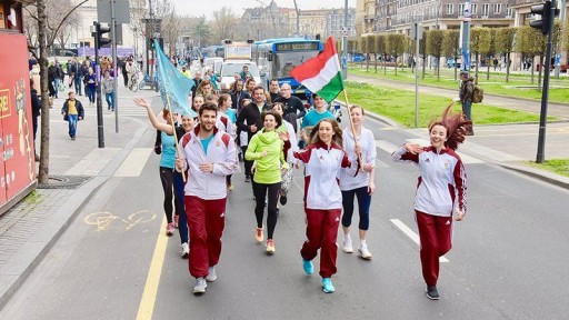 44-Day Run Through Hungary in the Name of a Drug-Free Country