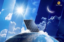 Neutrinovoltaic: Solar Cells That Don't Need Light