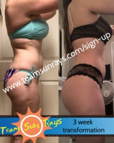 3 week client transformation