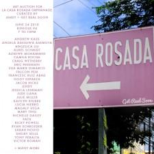 Casa Rosada Hood Fundraiser Artist List