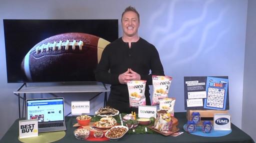 Kory Biermann Share Big Game Prep Ideas with Tips On TV