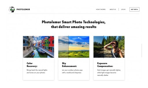 Photolemur, the World's First Fully Automated Photo Enhancement Solution, Launches in Beta