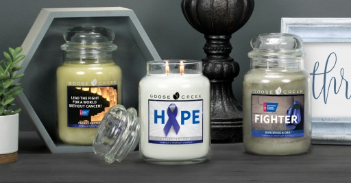 Kentucky-Based Candle Company Joins the Fight Against Cancer: Goose Creek Cares Campaign Will Donate at Least $50,000 to American Cancer Society