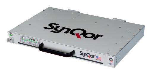 SynQor® Releases an Advanced Military-Grade DC Output, Shallow Rack Power Conditioner (MPC-1250)