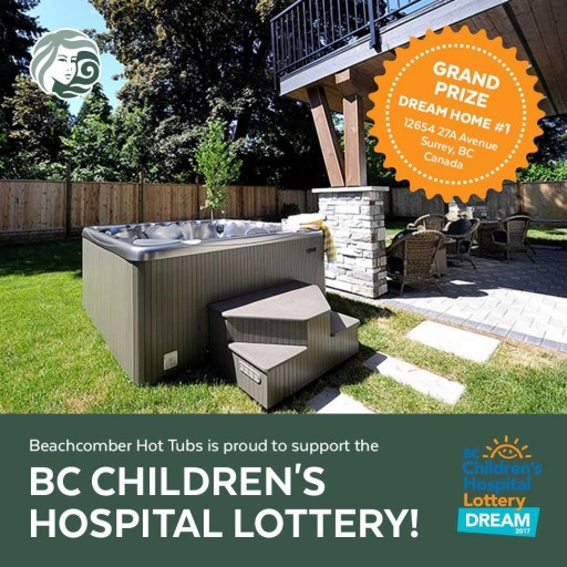 Beachcomber Hot Tubs® Proudly Supports BC Children's Hospital Foundation Dream Lottery
