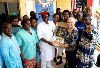 The Human Rights World Educational Tour briefs hospital personnel