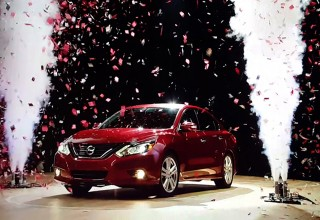 Confetti and Fog Bursts Create Visual Celebration for Nissan Ad