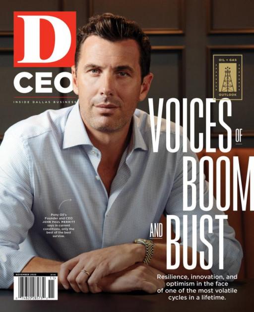 Pony Oil's CEO, John Paul Merritt, Discusses Energy With D CEO Magazine