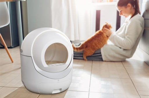 Igloo Introduces a Modern Automatic Cat Litter Box That Makes Both Cats and Owners Happy