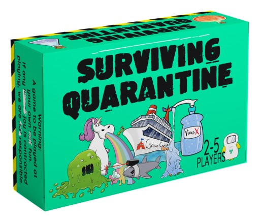 Family Creates 'Surviving Quarantine' Card Game to Bring Humor to the Pandemic