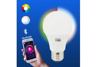 SMAlux A19 Bluetooth Smart LED Light Bulb
