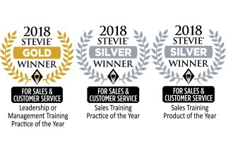 Wilson Learning Wins 1 Gold and 2 Silver Stevie® Awards in Sales and Customer Service