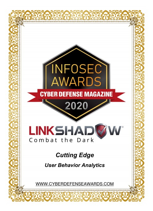 LinkShadow Named Winner of the Coveted InfoSec Awards During RSA Conference 2020