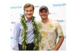Brian Evans and Dr. Oz met on Maui
