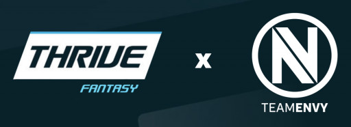 ThriveFantasy Levels Up in Esports, Partners With Envy Gaming as Organization's Exclusive Daily Fantasy Esports Platform