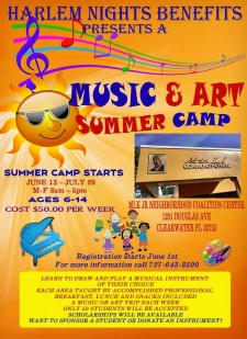 Music & Art Summer Camp at the Martin Luther King Jr., Center in Greenwood