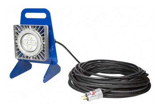 Larson Electronics Releases Explosion Proof LED Light, 50W, Portable, 50' 16/3 Cord, 7,000 Lumens