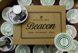 Free beacons for local businesses.