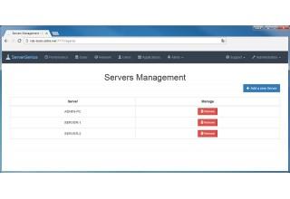 Multiple servers - Server Genius
