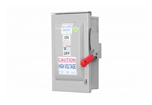 Larson Electronics Releases 60A Fusible Manual AC Safety Disconnect Switch, 3-Pole, 600V AC